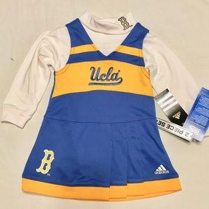 NWT UCLA Bruins NCAA Adidas Baby Girls Cheerleader